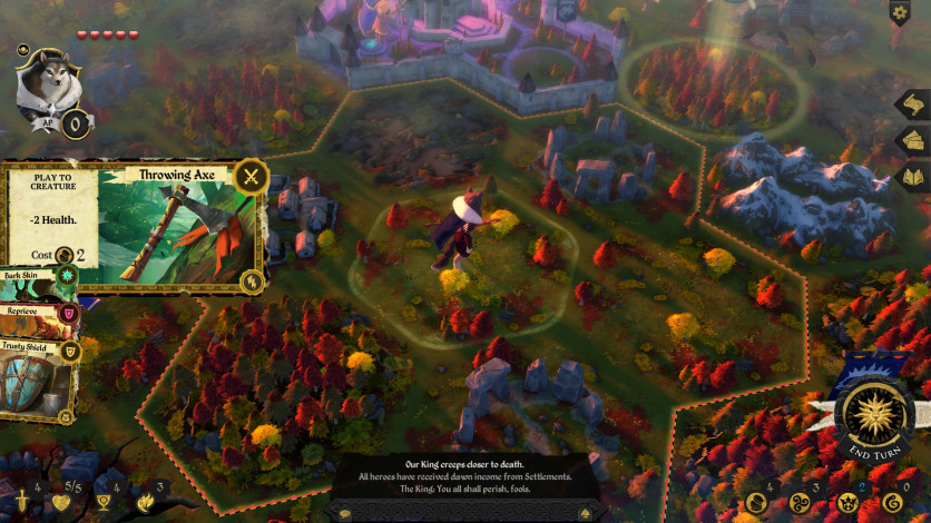 Screenshot 4 - Armello - Seasons Board Skins Pack