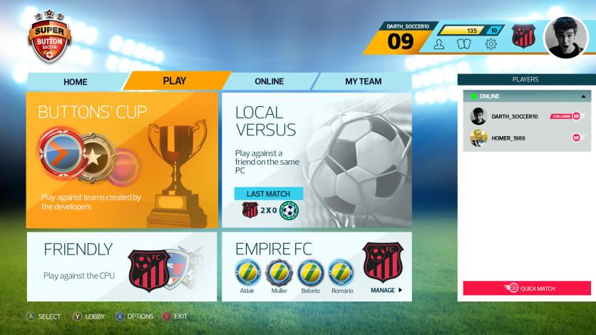 Screenshot 8 - Super Button Soccer