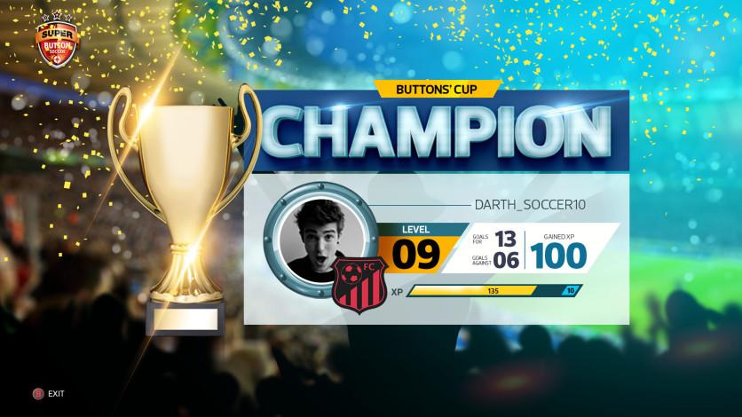 Screenshot 1 - Super Button Soccer