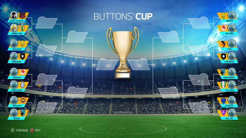 Screenshot 3 - Super Button Soccer