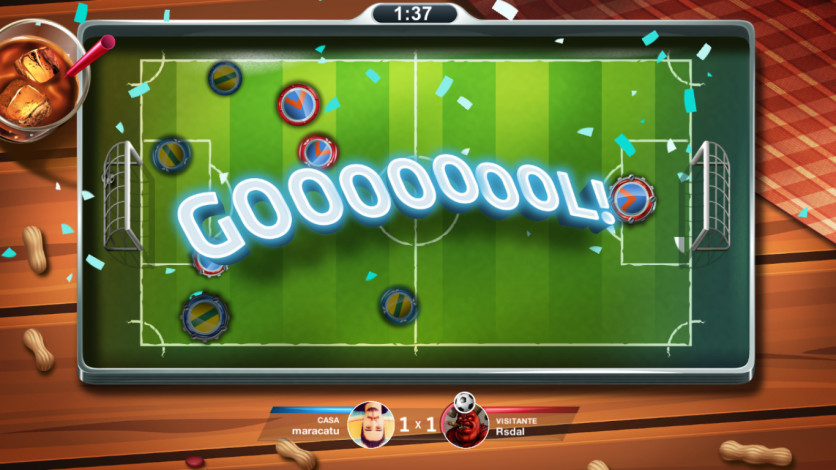 Screenshot 2 - Super Button Soccer