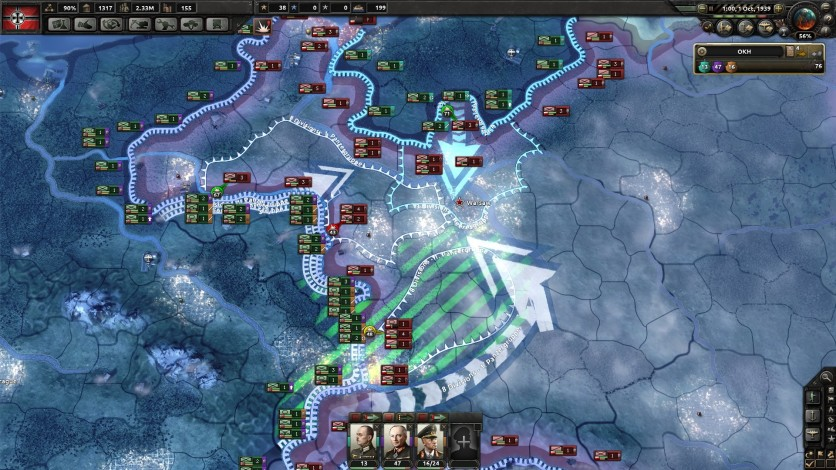 Screenshot 3 - Hearts of Iron IV: Together for Victory