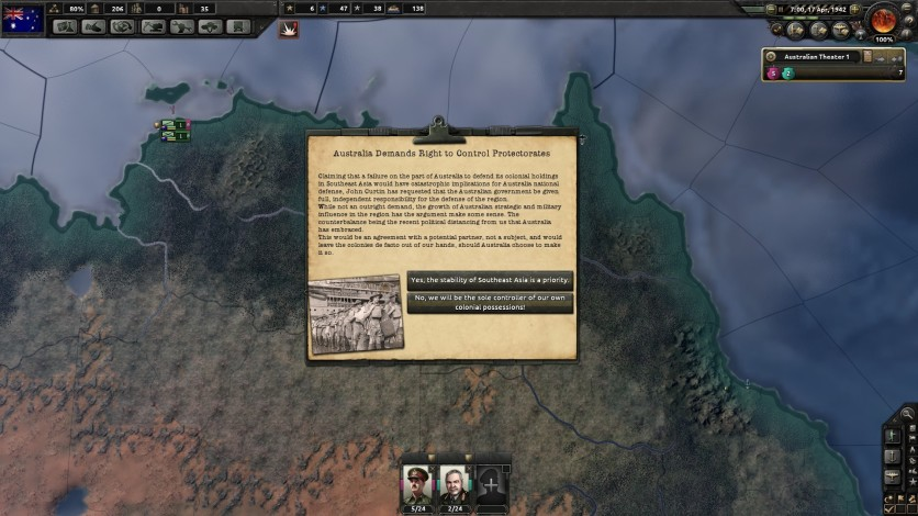 Screenshot 5 - Hearts of Iron IV: Together for Victory