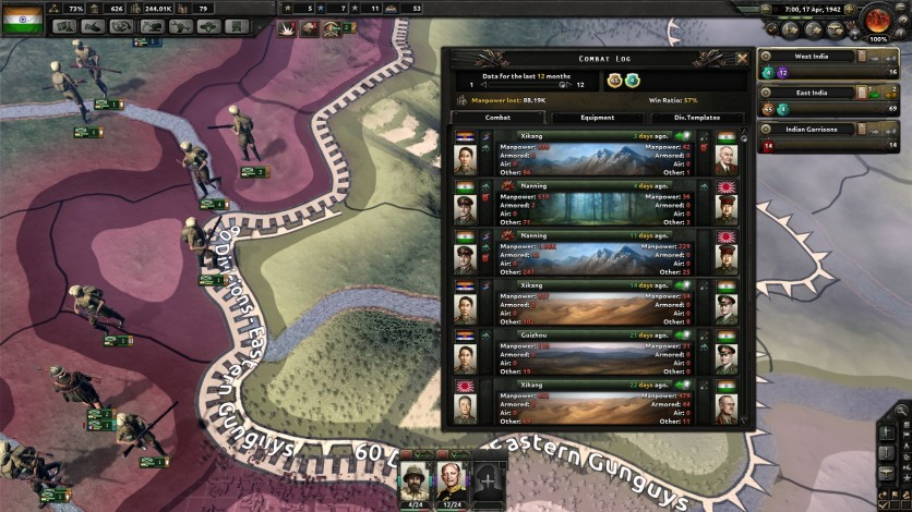 Screenshot 2 - Hearts of Iron IV: Together for Victory