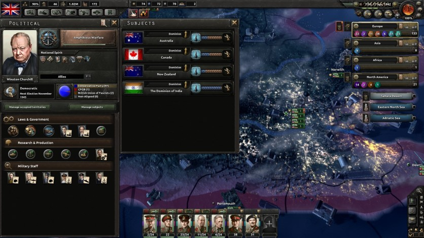 Screenshot 11 - Hearts of Iron IV: Together for Victory