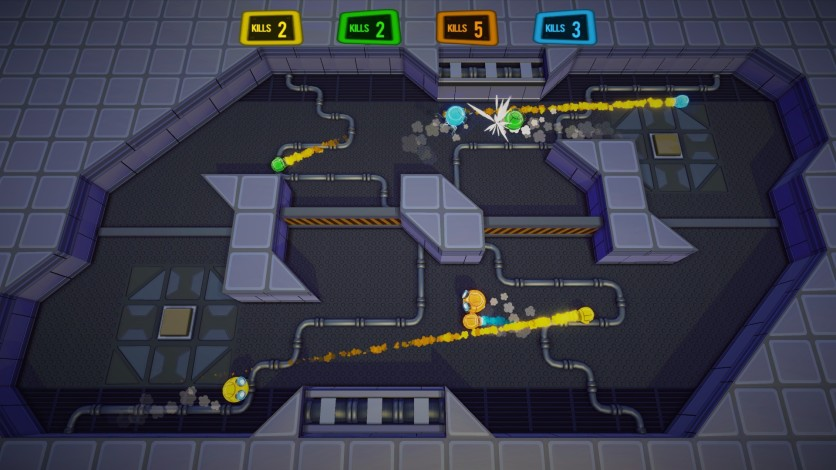Screenshot 1 - Rocket Fist