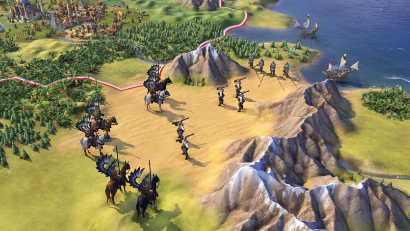 Screenshot 1 - Sid Meier's Civilization VI - Poland Civilization & Scenario Pack