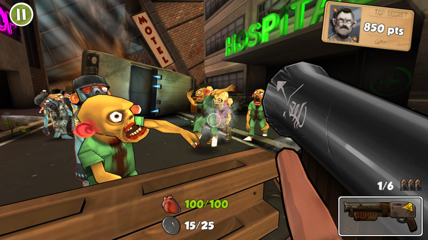 Screenshot 3 - Rage Against The Zombies
