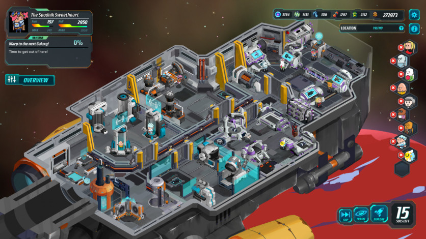 Screenshot 2 - Holy Potatoes! We're in Space?!