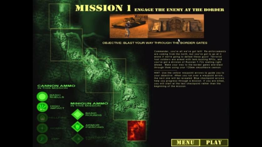 Screenshot 2 - Desert Thunder