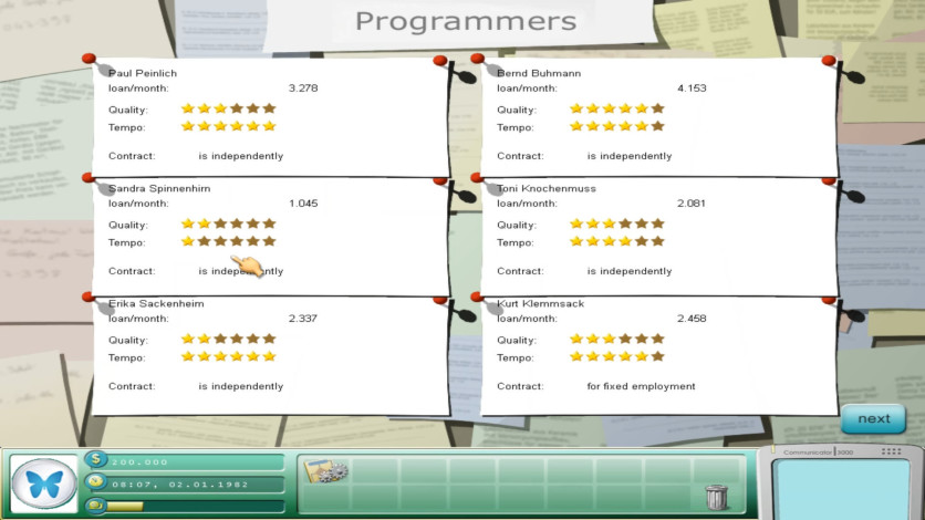 Screenshot 12 - Game Tycoon 1.5