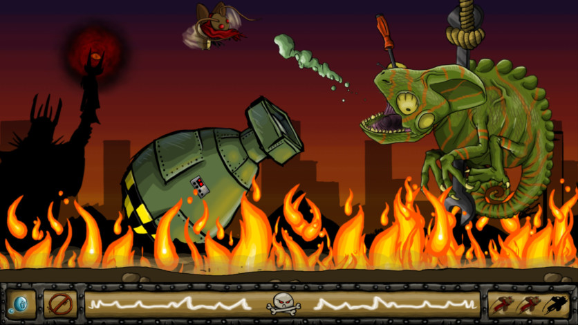 Screenshot 2 - RADical ROACH Deluxe Edition