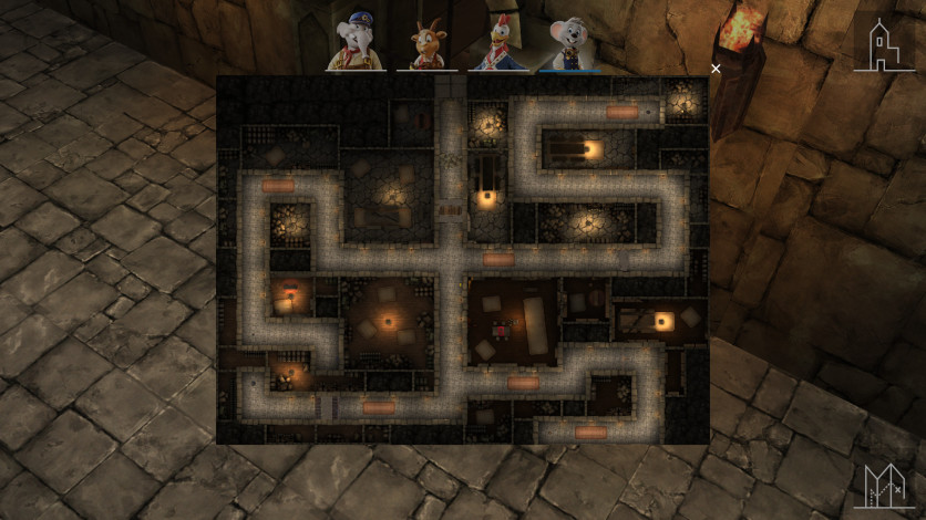 Screenshot 2 - Mystery Maze Of Balthasar Castle
