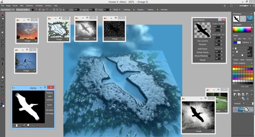 Screenshot 12 - PD Howler 9.6 Digital Painter and Visual FX box