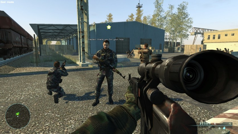 Screenshot 1 - Chernobyl Commando