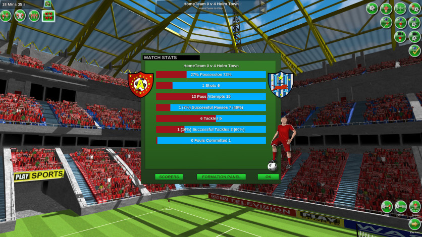 Screenshot 6 - Tactical Soccer The New Season