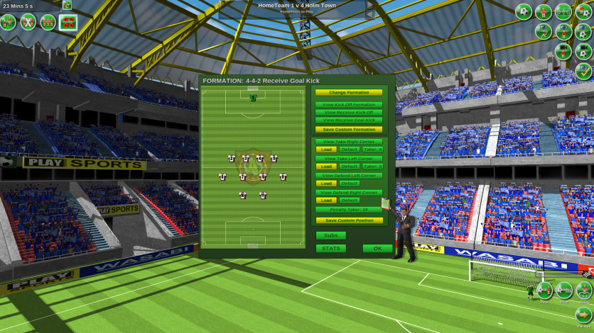 Screenshot 3 - Tactical Soccer The New Season
