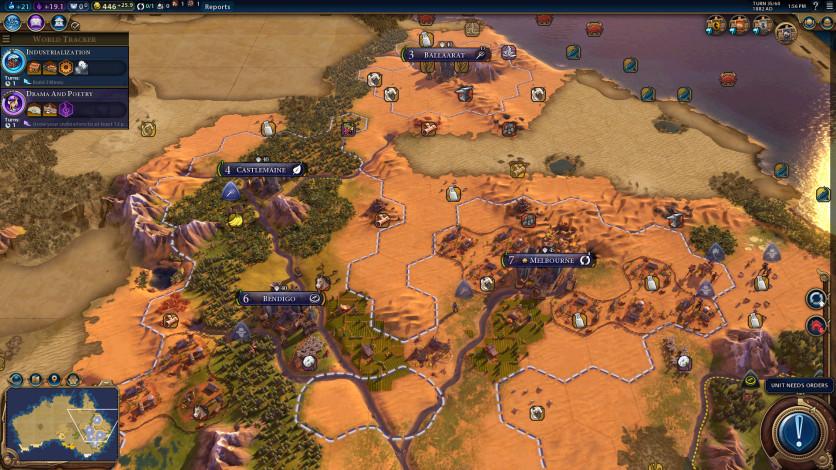 Screenshot 6 - Sid Meier's Civilization VI - Australia Civilization & Scenario Pack