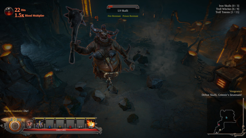 Screenshot 4 - Vikings - Wolves of Midgard