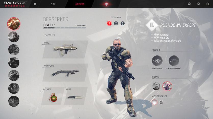 Screenshot 2 - Ballistic Overkill: Berserker Veteran