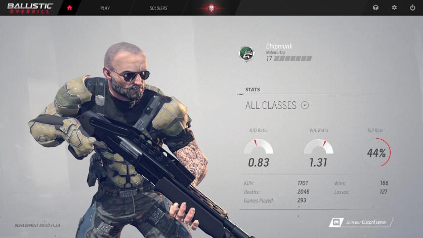 Screenshot 3 - Ballistic Overkill: Berserker Veteran