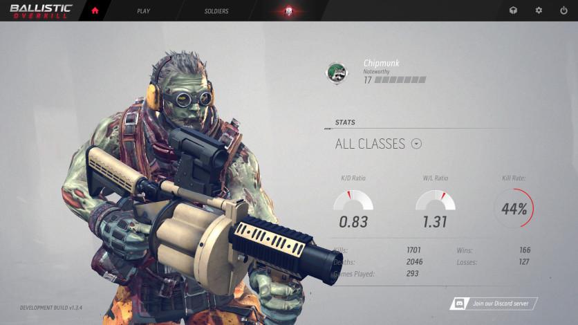Screenshot 3 - Ballistic Overkill: Grenadier Zombie