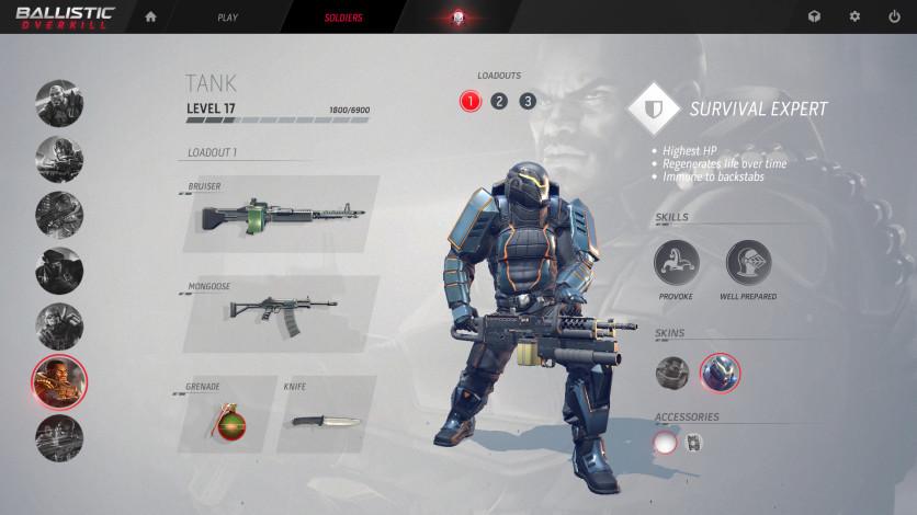 Screenshot 2 - Ballistic Overkill: Tank Elite
