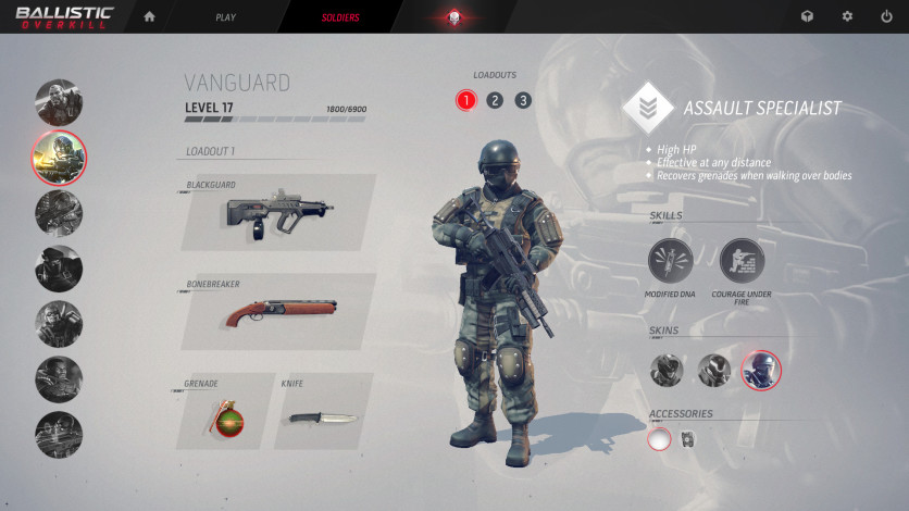 Screenshot 2 - Ballistic Overkill: Vanguard SpecOps