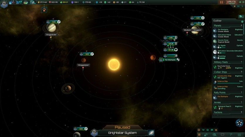 Screenshot 1 - Stellaris: Utopia