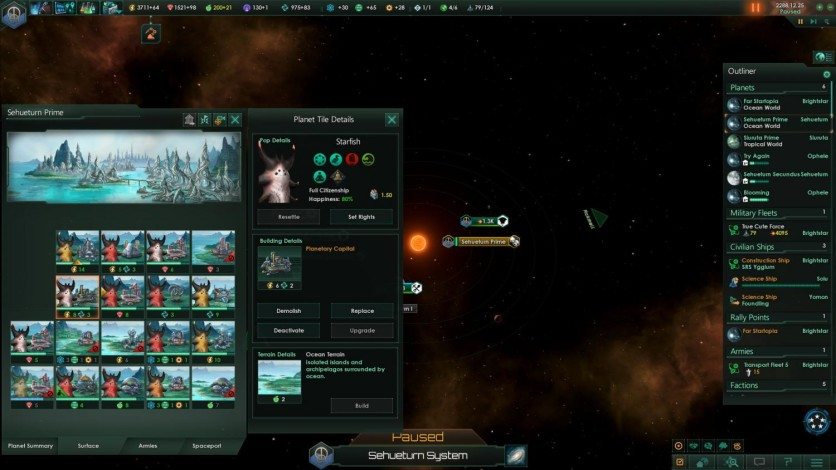 Screenshot 3 - Stellaris: Utopia