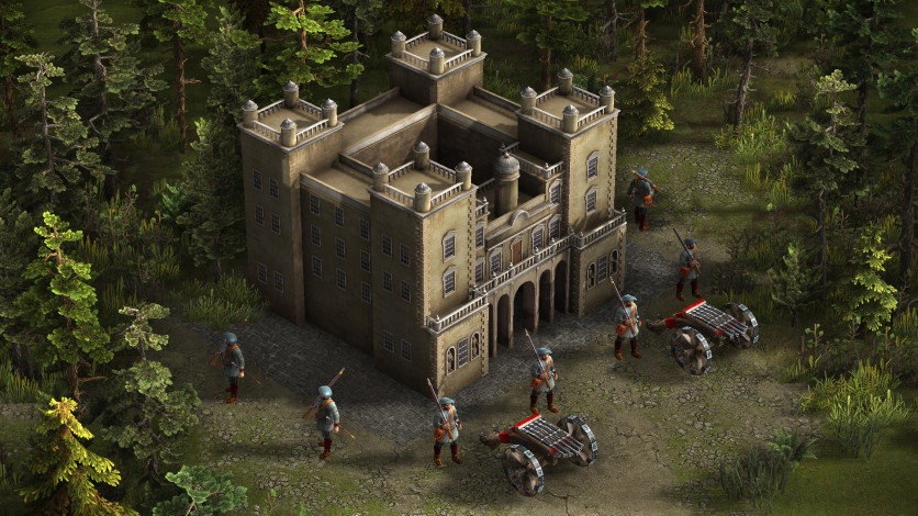Screenshot 3 - Cossacks 3: Guardians of the Highlands