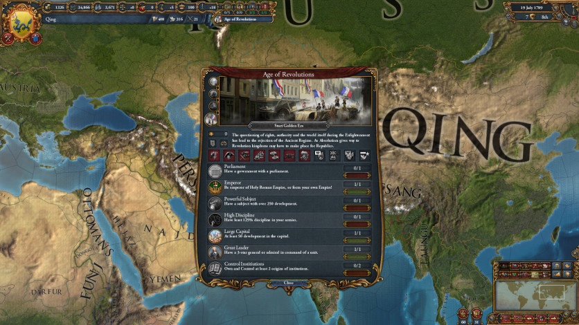Screenshot 3 - Europa Universalis IV: Mandate of Heaven