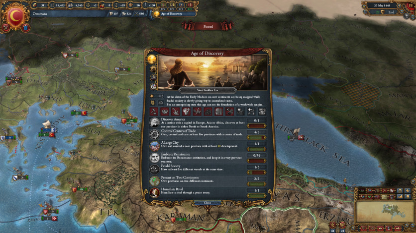 Screenshot 4 - Europa Universalis IV: Mandate of Heaven