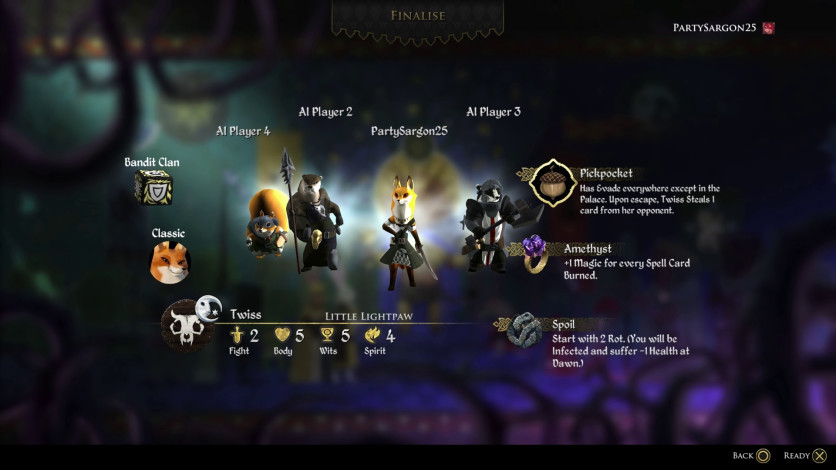 Screenshot 4 - Armello - The Bandit Clan