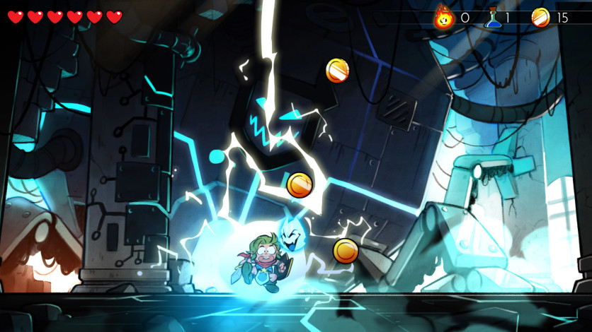 Screenshot 5 - Wonder Boy: The Dragon's Trap