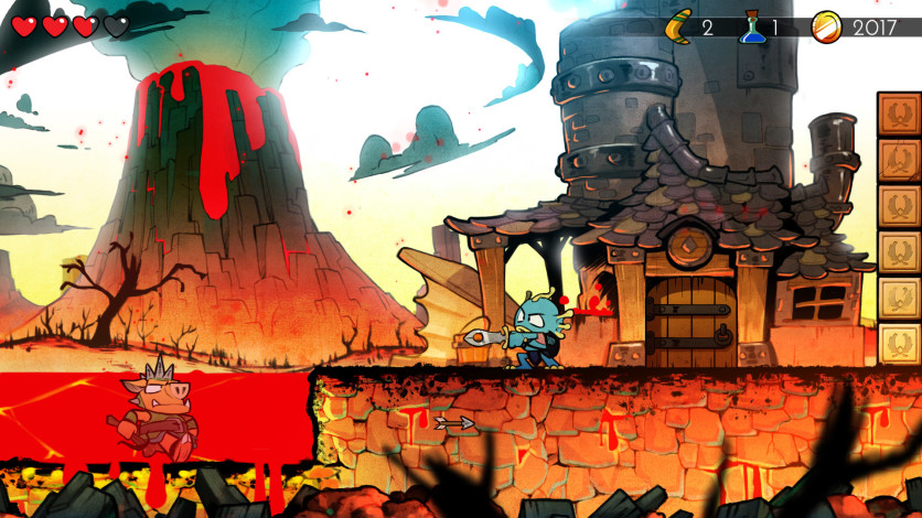 Screenshot 2 - Wonder Boy: The Dragon's Trap