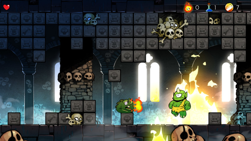 Screenshot 4 - Wonder Boy: The Dragon's Trap