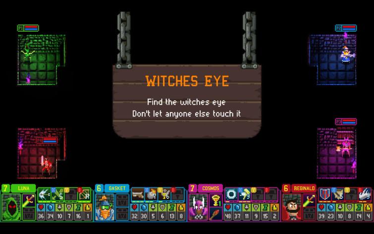 Screenshot 4 - Dungeon League