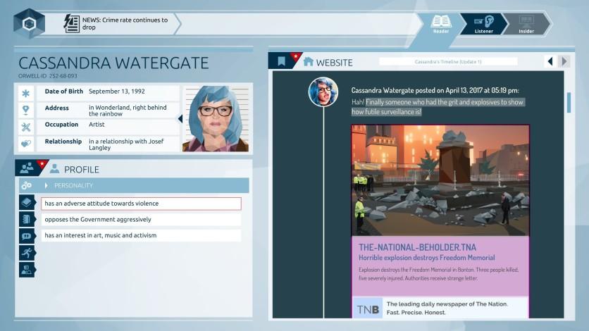 Screenshot 2 - Orwell