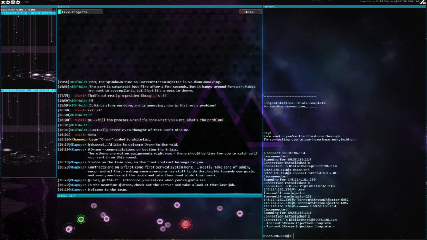 Screenshot 6 - Hacknet - Labyrinths Official Soundtrack
