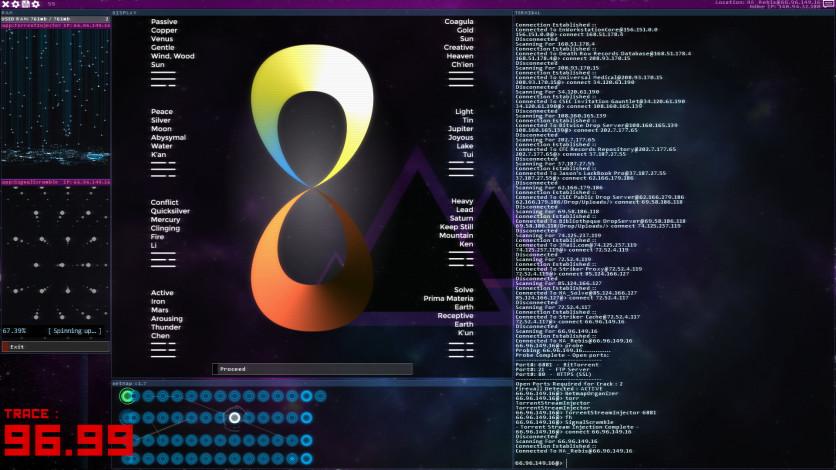 Screenshot 5 - Hacknet - Labyrinths Official Soundtrack