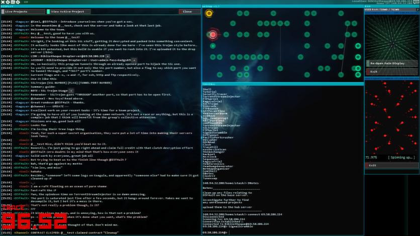 Screenshot 2 - Hacknet - Labyrinths Official Soundtrack