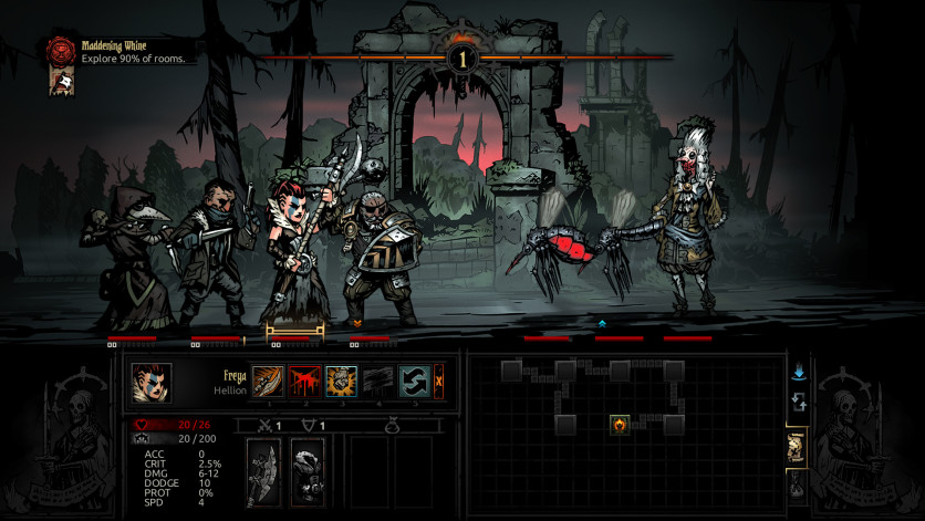 Screenshot 2 - Darkest Dungeon: The Crimson Court
