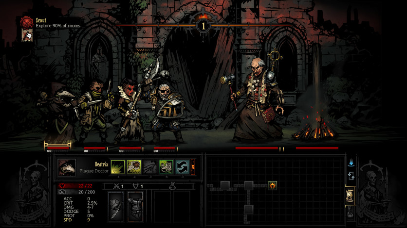 Screenshot 5 - Darkest Dungeon: The Crimson Court