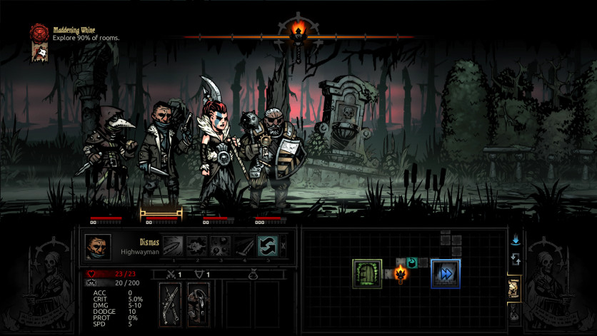 Screenshot 4 - Darkest Dungeon: The Crimson Court