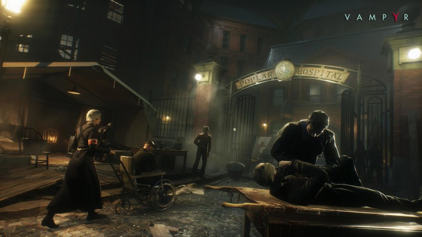 Screenshot 2 - Vampyr