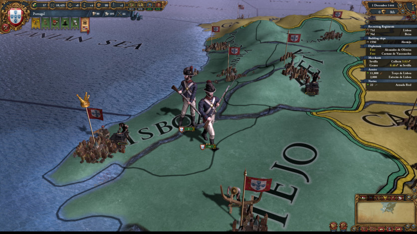 Screenshot 2 - Europa Universalis IV: Common Sense Content Pack