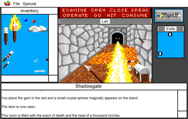 Screenshot 10 - Shadowgate: MacVenture Series