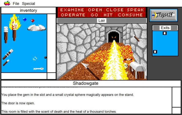 Screenshot 10 - Shadowgate: MacVenture Series