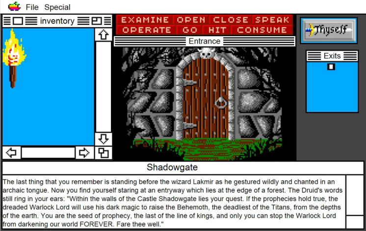 Screenshot 20 - Shadowgate: MacVenture Series